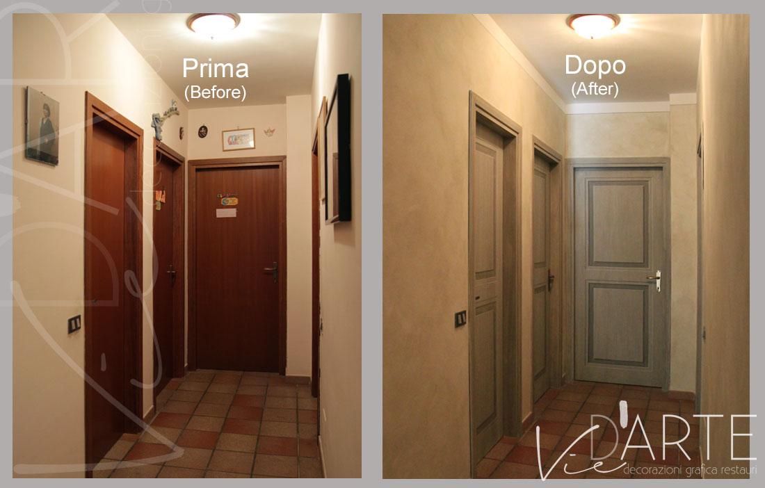 Porte decorate con finte bugne – Viera Danielli