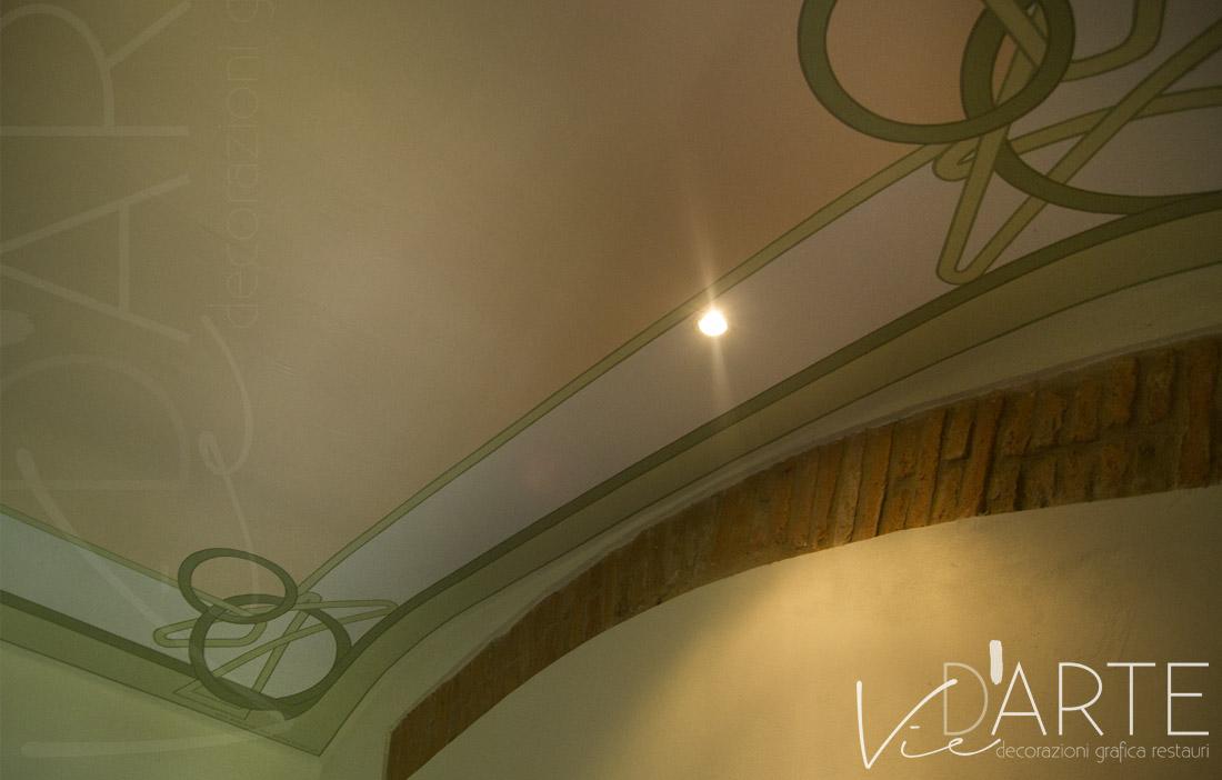 Decorazione soffitto stile liberty u2013 viera danielli