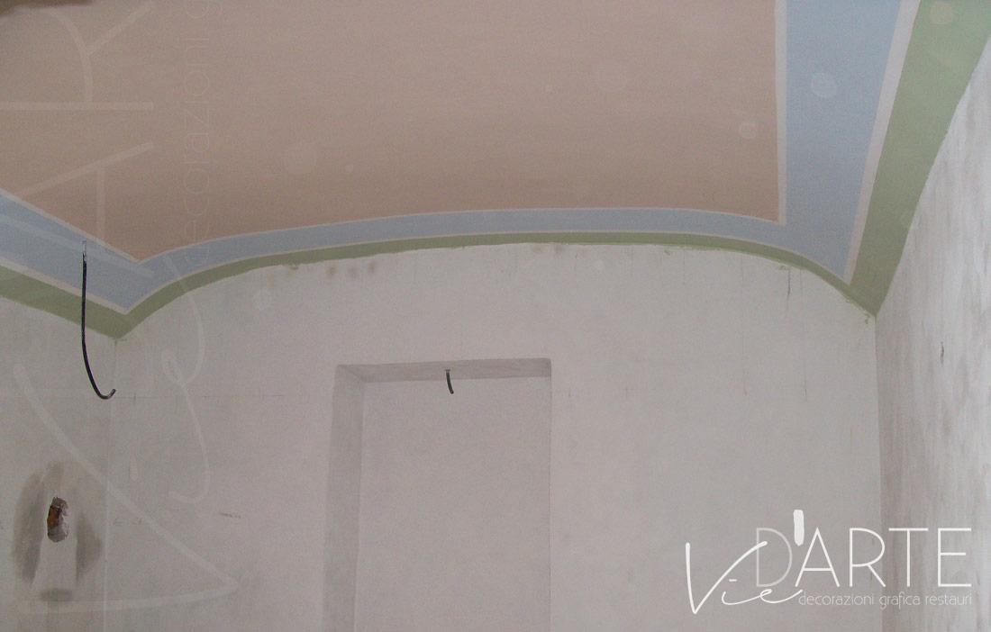 Decorazioni Per Soffitti A Volta : Decorazione soffitto stile liberty u2013 viera danielli