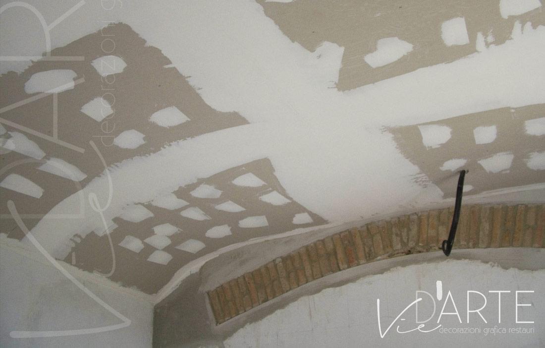 Soffitti A Volta Decorazioni : Decorazioni d interni soffitti