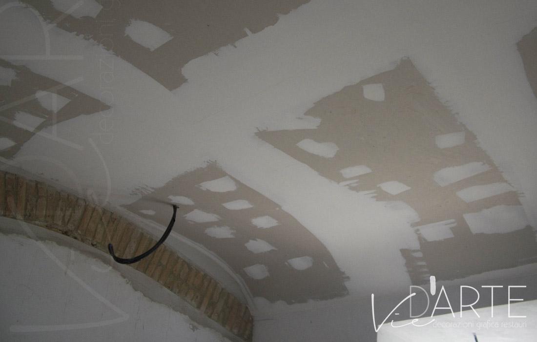 Soffitti A Volta Decorazioni : Decorazioni murali e affreschi su soffitti volte e cupole